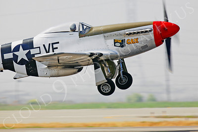 CUNWB 00066 North American P-51D Mustang by Peter J Mancus