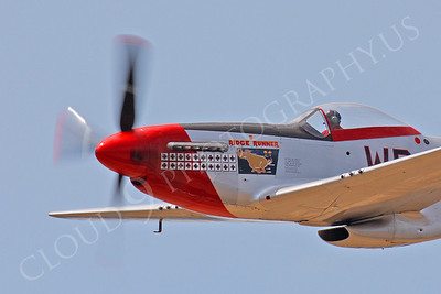 CUNWB 00114 North American P-51D Mustang Ridge Runner by Peter J Mancus