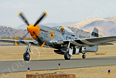 WB - 00051 North American P-51 Mustang Section Eight by Peter J Mancus