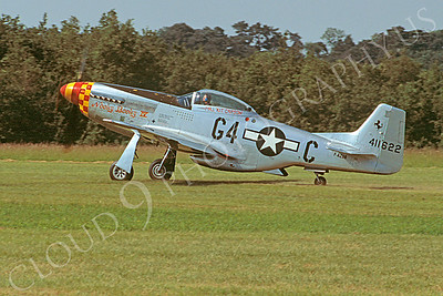 WB - 00055 North American P-51 Mustang Nooky Booky IV by Stephen W D Wolf