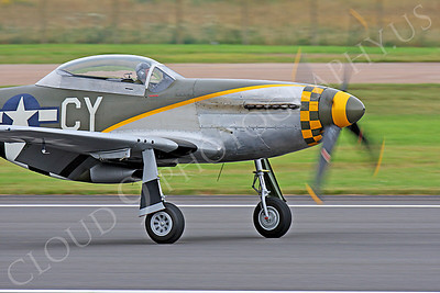 CUNWB 00035 North American P-51D Mustang by Peter J Mancus