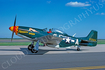 WB - 00065 North American P-51 Mustang Passion Wagon by Stephen W D Wolf