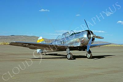 WB - 00003 North American T-6 Texan NACA by W T Larkins