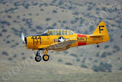 WB - 00008 North American SNJ Texan US Navy by Peter J Mancus