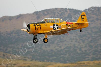 WB - 00004 North American SNJ Texan US Navy by Peter J Mancus