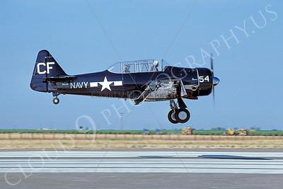 WB - 00002 North American SNJ Texan US Navy by W T Larkins