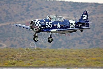 WB - 00006 North American SNJ Texan US Navy by Peter J Mancus