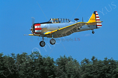 WB - 00022 North American T-6 Texan US Army Air Corps by Stephen W D Wolf