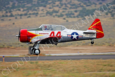 WB - 00010 North American T-6 Texan US Air Force by Peter J Mancus