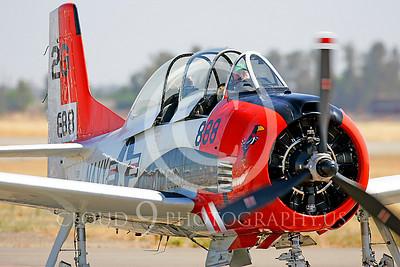 WB - North American T-28 Trojan 00023 by Peter J Mancus