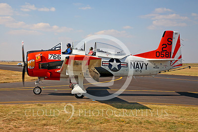 WB - North American T-28 Trojan 00005 SHARKMOUTH by Peter J Mancus