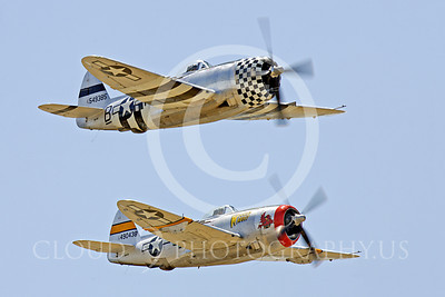 WB - Republic P-47 Thunderbolt 00018 Republic P-47 Thunderbolt World War II era fighter warbird, by Peter J Mancus
