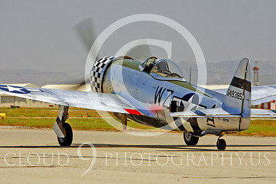WB - Republic P-47 Thunderbolt 00023 Republic P-47 Thunderbolt US World War II fighter by Peter J Mancus