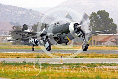 WB - Republic P-47 Thunderbolt 00015 Republic P-47 Thunderbolt US World War II fighter by Peter J Mancus