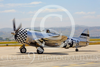 WB - Republic P-47 Thunderbolt 00013 Republic P-47 Thunderbolt US World War II fighter by Peter J Mancus