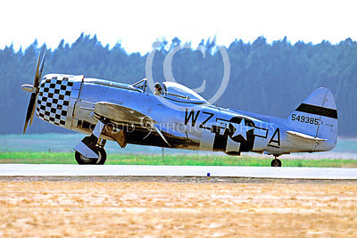WB - Republic P-47 Thunderbolt 00007 Republic P-47 Thunderbolt US World War II fighter by Peter J Mancus
