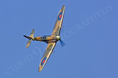 WB - Vickers-Supermarine Spitfire 00164 by Tony Fairey