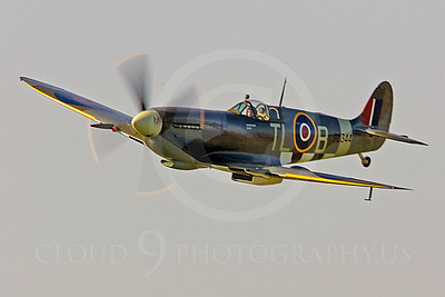 WB - Vickers-Supermarine Spitfire 00134 by Tony Fairey