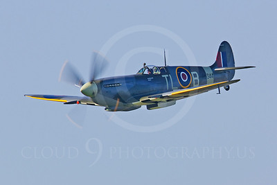 WB - Vickers-Supermarine Spitfire 00128 by Tony Fairey