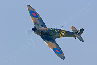 WB - Vickers-Supermarine Spitfire 00166 by Tony Fairey