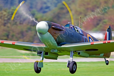WB - Vickers-Supermarine Spitfire 00160 by Tony Fairey