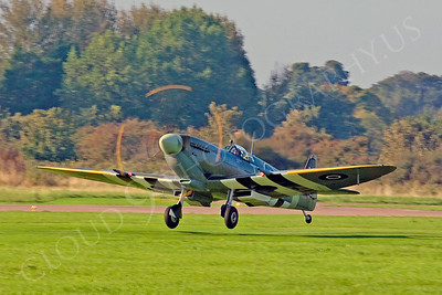 WB - Vickers-Supermarine Spitfire 00252 by Tony Fairey