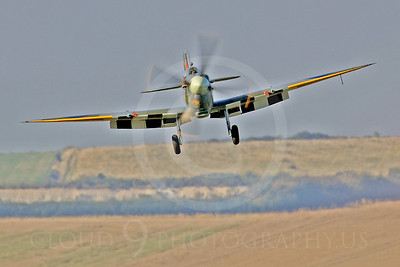 WB - Vickers-Supermarine Spitfire 00148 by Tony Fairey