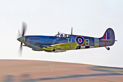 WB - Vickers-Supermarine Spitfire 00194 by Tony Fairey