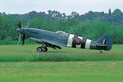 WB - 00017 Vickers-Supermarine Spitfire British RAF by Stephen W D Wolf