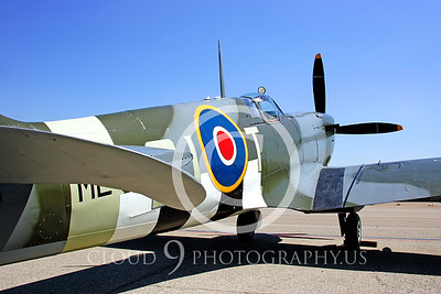 WB-Vickers-Supermarine Spitfire 00001 British Royal Air Force by Peter J Mancus