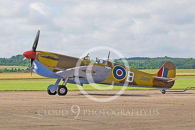 WB-Vickers-Supermarine Spitfire 00005 British Royal Air Force by Tony Fairey
