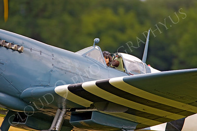 ACM 00359 Spitfire warbird pilot by Tony Fairey