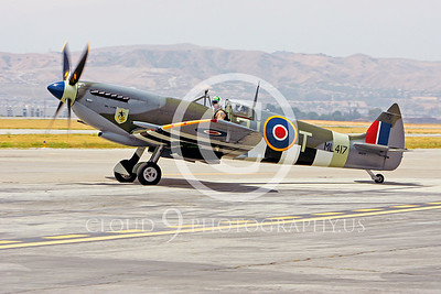 WB-Vickers-Supermarine Spitfire 00007 British Royal Air Force by Peter J Mancus