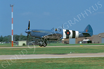 WB - 00174 Vickers-Supermarine Spitfire British RAF by Stephen W D Wolf