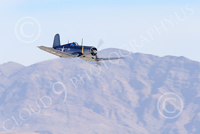 WB-Chance Vought F4U Corsair 00008 A low flying Chance Vought F4U Corsair US WWII era fighter, warbird picture by Peter J Mancus