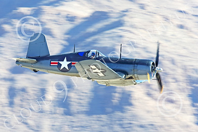 WB-Chance Vought F4U Corsair 00022 A low flying Chance Vought F4U Corsair US WWII era fighter, warbird picture by Peter J Mancus
