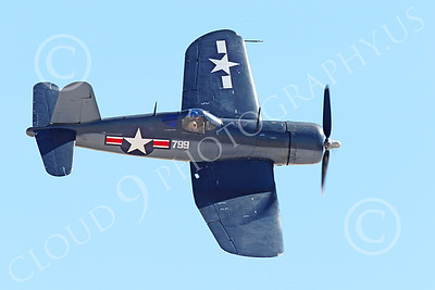 WB-Chance Vought F4U Corsair 00012 A flying Chance Vought F4U Corsair US WWII era fighter banks right, warbird picture by Peter J Mancus