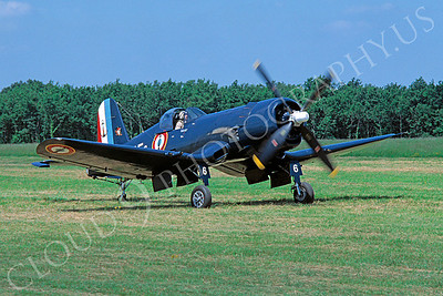 WB - 00073 Chance Vought F4U Corsair French Navy by Stephen W D Wolf