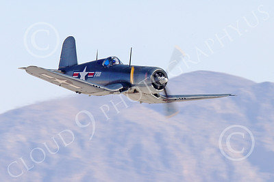 WB-Chance Vought F4U Corsair 00038 A low flying Chance Vought F4U Corsair US WWII era fighter, warbird picture by Peter J Mancus