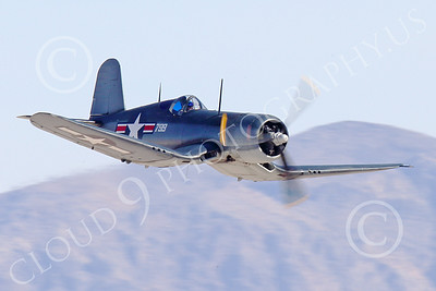 WB-Chance Vought F4U Corsair 00020 A low flying Chance Vought F4U Corsair US WWII era fighter, warbird picture by Peter J Mancus