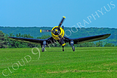 WB - Chance Vought F4U Corsair 00021 Chance Vought F4U Corsair British Royal Navy warbird aircraft photo by Stephen W D Wolf