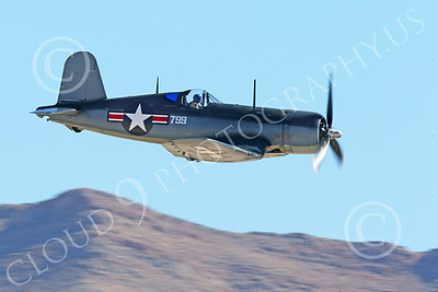 WB-Chance Vought F4U Corsair 00004 A low flying Chance Vought F4U Corsair US WWII era fighter, warbird picture by Peter J Mancus