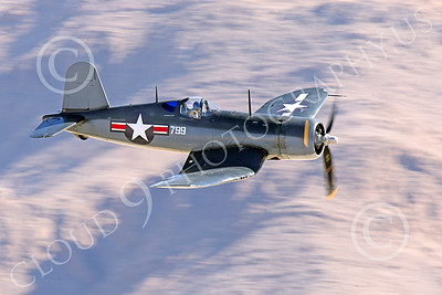 WB-Chance Vought F4U Corsair 00040 A low flying Chance Vought F4U Corsair US WWII era fighter, warbird picture by Peter J Mancus