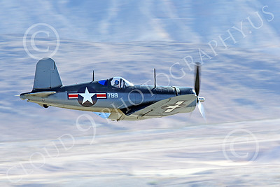 WB-Chance Vought F4U Corsair 00044 A low flying Chance Vought F4U Corsair US WWII era fighter banks right, warbird picture by Peter J Mancus