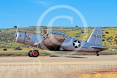 WB - Vultee BT-13 Valiant 00001 Vultee BT-13 Valiant by Peter J Mancus