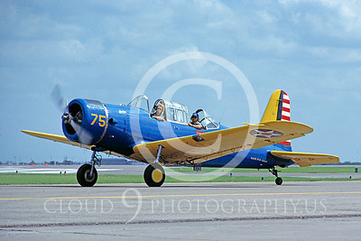 WB - Vultee BT-13 Valiant 00005 Vultee BT-13 Valiant by Stephen W D Wolf