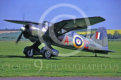 WB - Westland Lysander 00013 Westland Lysander British RAF warbird by MarinusTabak