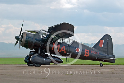 WB-Westland Lysander 00005 British Royal Air Force by Tony Fairey