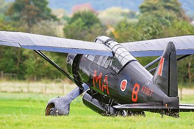 WB - Westland Lysander 00007 Westland Lysander British RAF by Tony Fairey