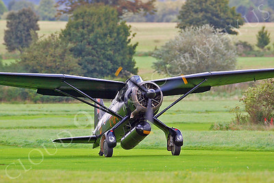 WB - Westland Lysander 00011 Westland Lysander British RAF by Tony Fairey